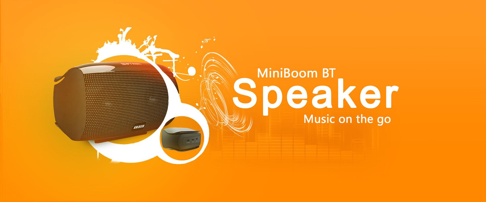 MiniBoom Bluetooth Speaker